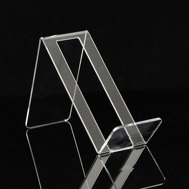 Acrylic display stand BELLA for 1 bottle