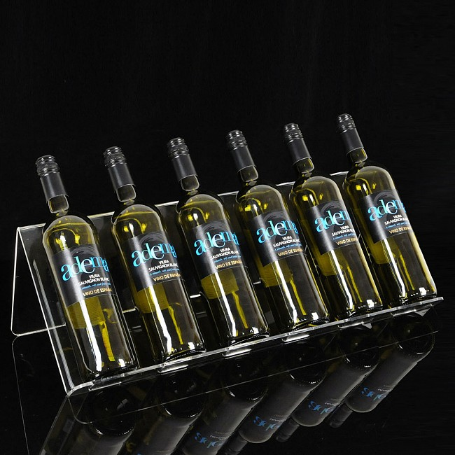 Acrylic display stand BELLA for 6 bottles