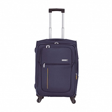 Travelite Flair II Four 54 cm Trolley 4 Rollen marineblau  Kabinengep�ck